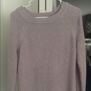 Casual Lilac Sweater